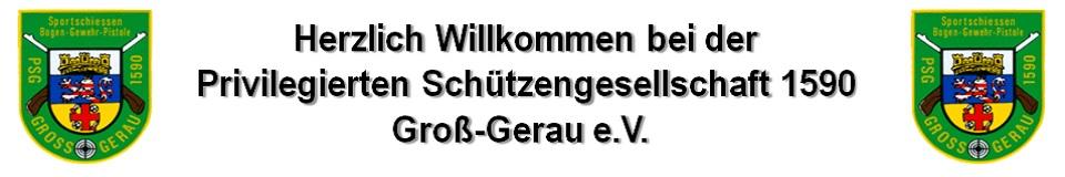 Privilegierte Schützengesellschaft 1590 Groß-Gerau e.V
